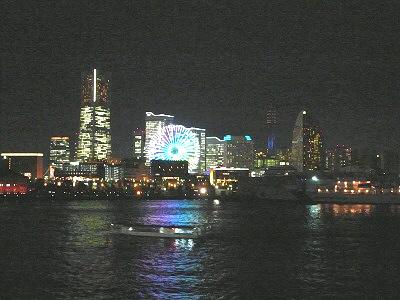 横浜大桟橋からの眺望