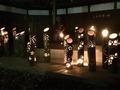 湯田川温泉の竹灯篭