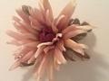 絹の花 私が作りました。
