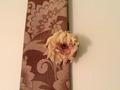 帯をタペストリーに、そして絹の花