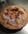 自家食リンゴのアップルパイ