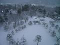 会津若松城からの景色