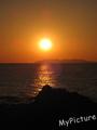 山形あつみ日本海の夕日「トワイライト」