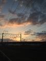 冷夏の夕陽2013