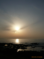 道の駅「あつみ」しゃりん 日本海の旅 絶景の夕陽2015(2)